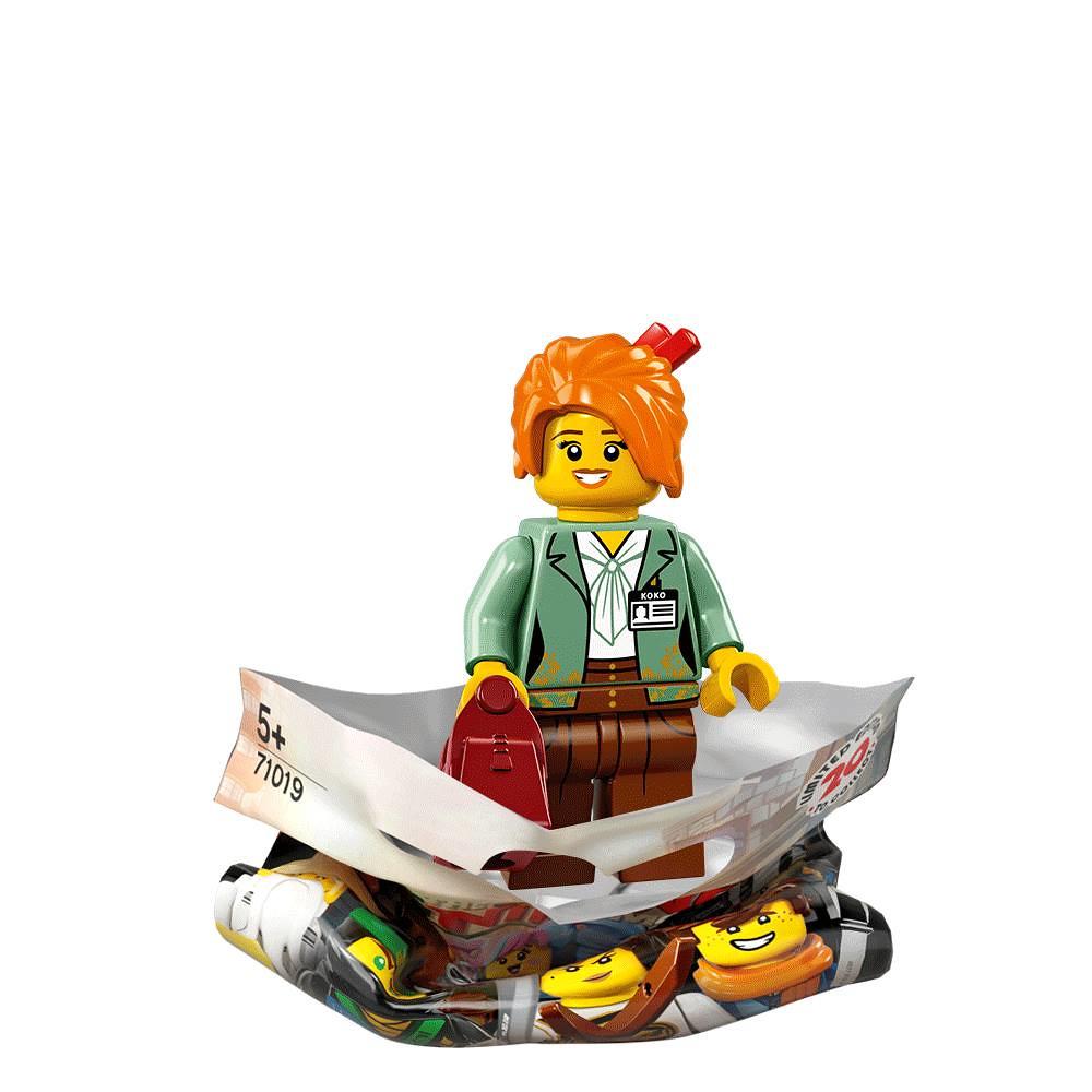 The LEGO Ninjago Movie Collectible Minifigures Series 71019 - Misako