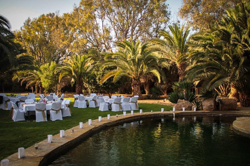 Hochzeitslocation in Namibia Afrika Traumhochzeit unter Palmen