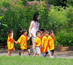 Class Trip,....Queens Botanical Gardens