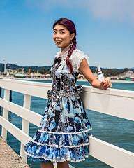 Mary on the Santa Cruz Wharf