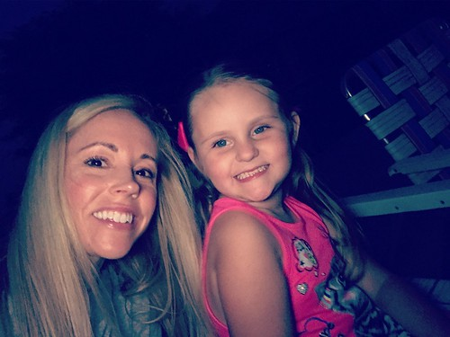 Fireworks with my favorite gal