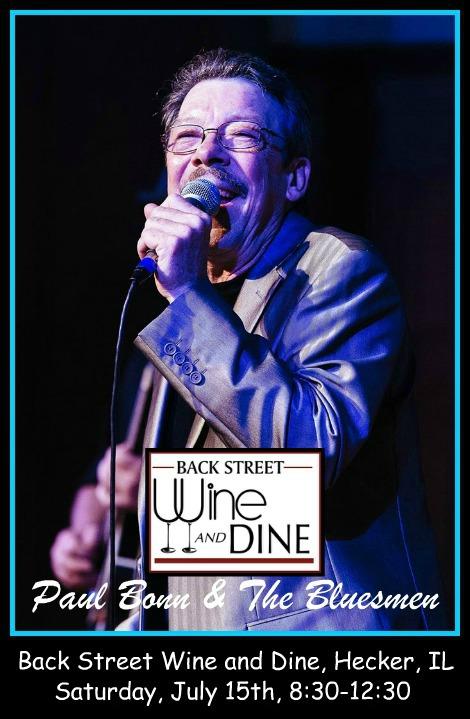 Paul Bonn & The Bluesmen 7-15-17