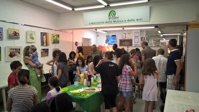 Mostra PITTURA a.a. 2016-2017 Classe Senior e junior_ Docenti Lorella Cecchini e Emilio Troncarelli