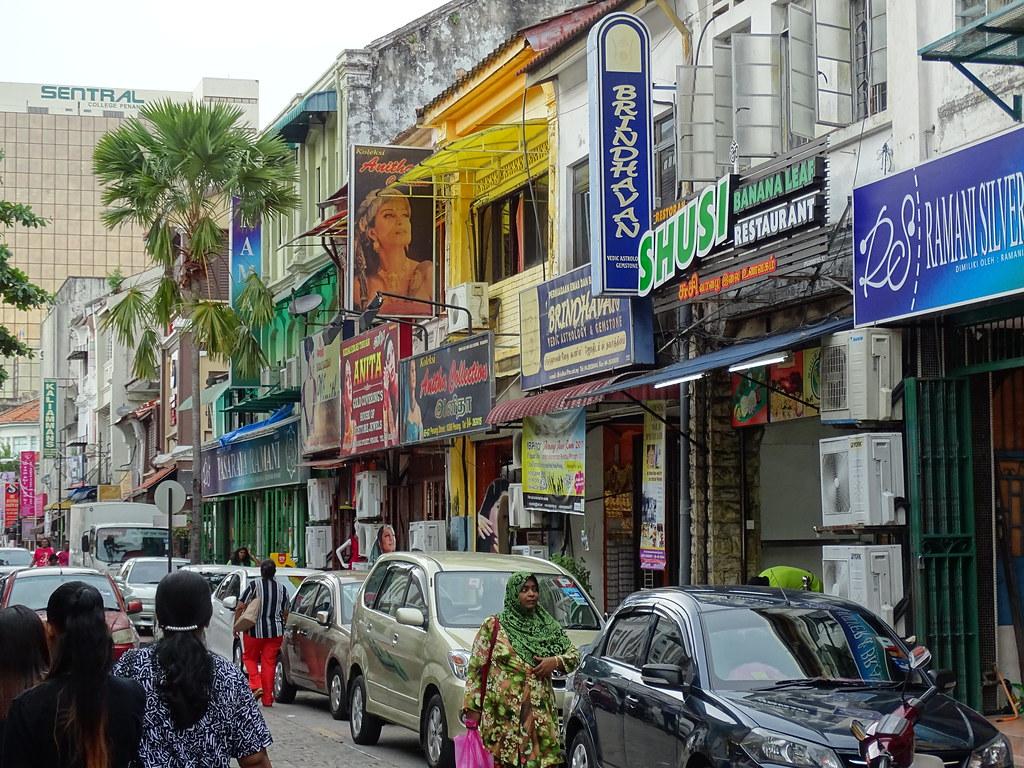 Street Scene - Little India - George Town - Penang - Malaysia