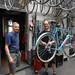 Peter Weigle & Jan Heine in the Alex Singer shop by c.c.pinto