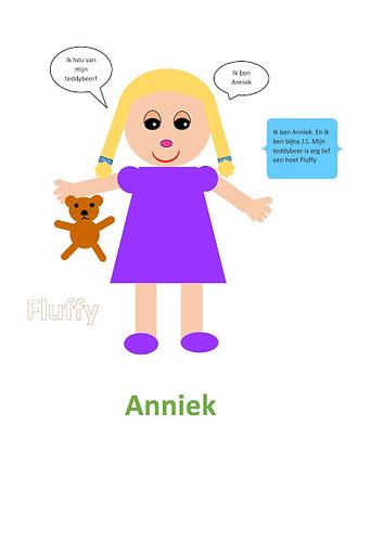 zelfportret Anniek