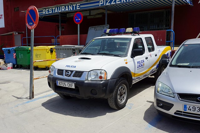 Nissan Pickup - Policia Local
