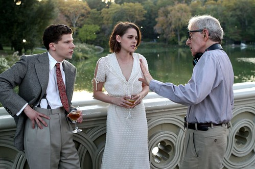 Café Society - backstage