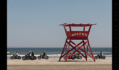 Motorcycles on the Beach