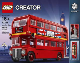 英國倫敦的經典浪漫!!LEGO 10258 創意系列【倫敦雙層巴士】Creator Expert London Bus