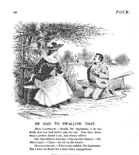 he had to swallow that (1891)