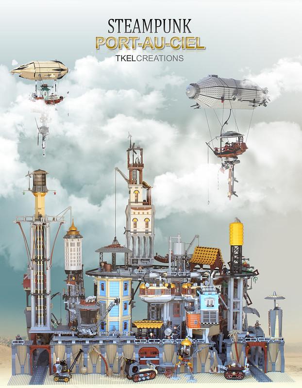 Steampunk Port-Au-Ciel