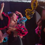 Les danseuses dans la loge avant le spectacle à la Bodega