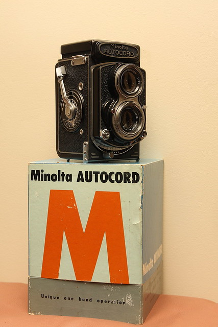 Minolta Autocord RG from 1965, Canon EOS 40D, Tamron AF 17-50mm f/2.8 Di-II LD Aspherical