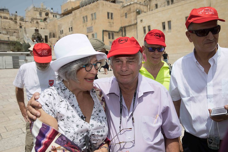 Itzik Yifat and Lesley Sachs