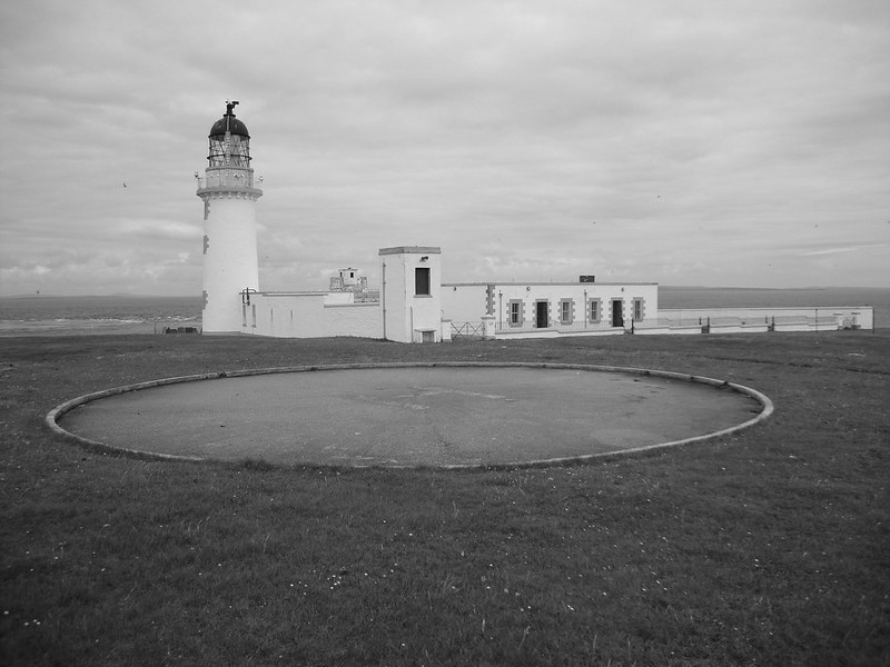 Lighthouse and helipad