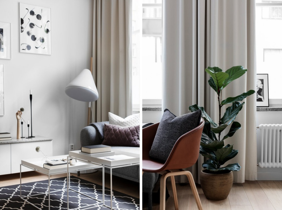 Simple Scandinavian Home With Cosy Ambiance