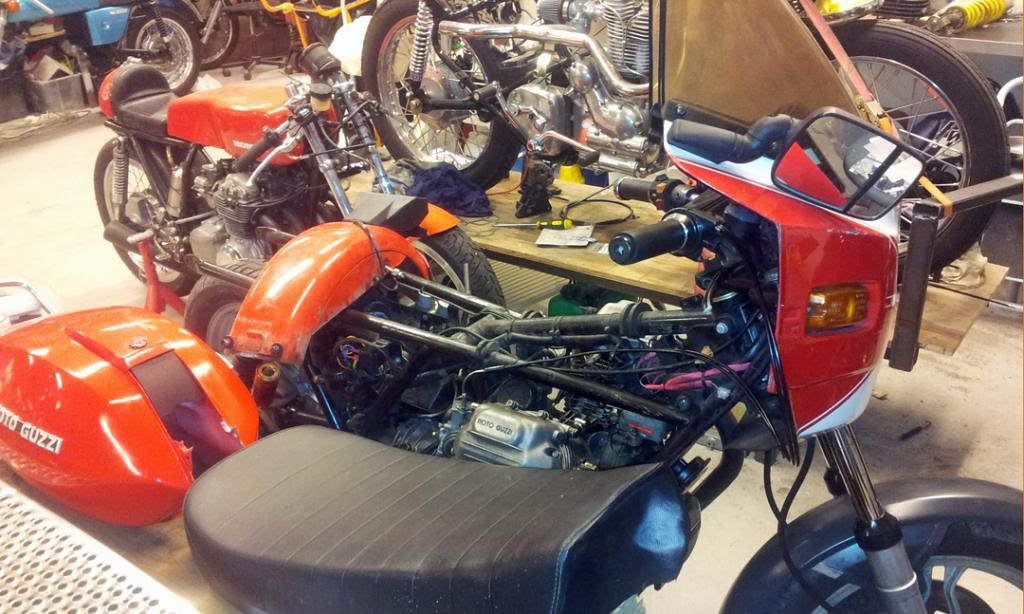 Moto Guzzi SP 1000 - 1983 - Page 2 35840737655_93abf8f356_b