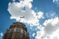Flag and Blue Sky