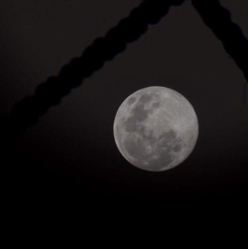 A lua de junho/2017