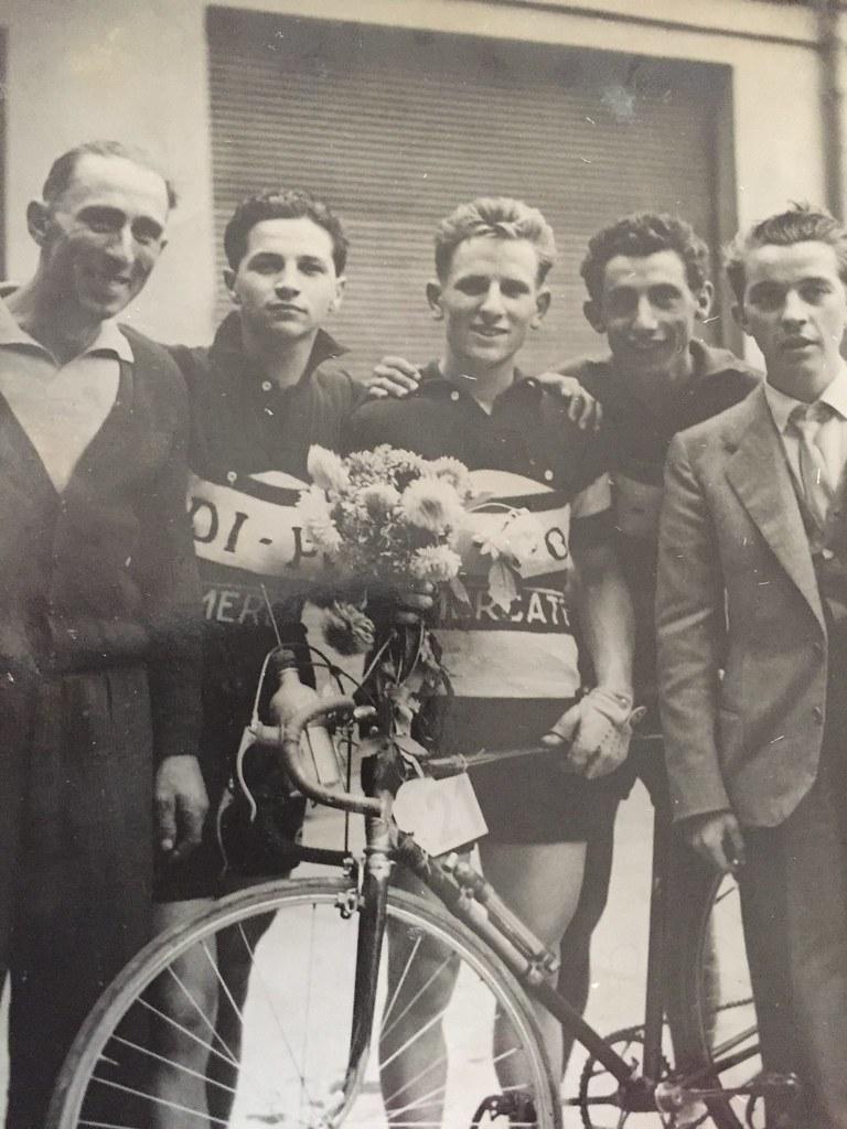 Campionato Lombardo 1949, Saronno (materiale inviato dal figlio Danilo .... grazie)