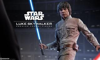 你是誰?!我是你老爸!!Sideshow Collectibles【路克.天行者】Luke Skywalker 1/4 比例全身雕像作品