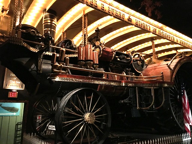 Robotic musical locomotive at the House on the Rock