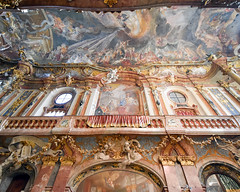 Ceiling and walls, Asamkirche (Asam's Church), Munich, Germany