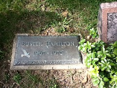 Buster Hamilton at Hartsdale Pet Cemetery.