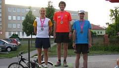 Olympijský běh v Olomouci: ve vedru vládli Dokulil a Matějíková