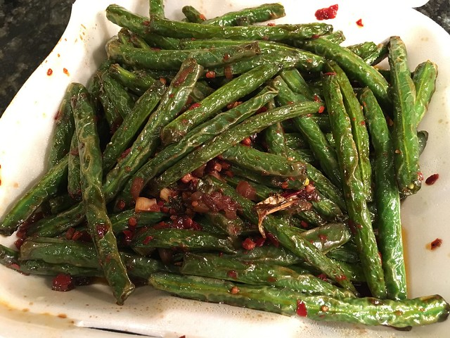 String bean Szechuan style - China King Restaurant