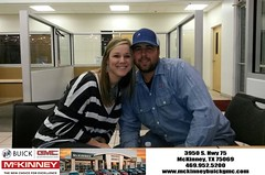 #HappyBirthday to Kara from CLARENCE Davis at McKinney Buick GMC!
