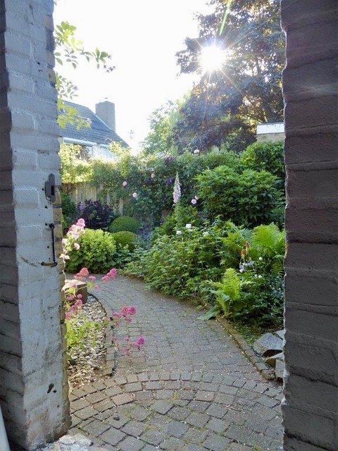 Tuinpad landelijke stijl
