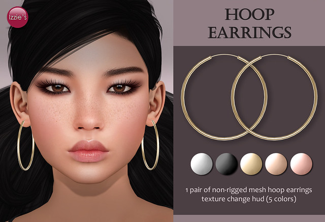 Hoop Earrings (for FLF)