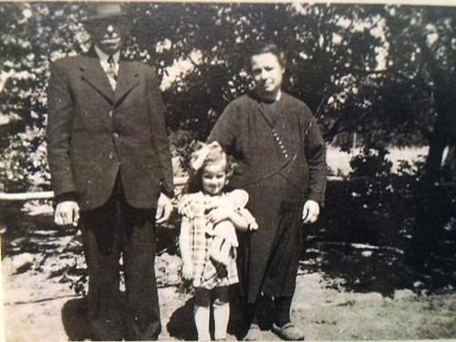 Familie........Opa en oma van Bree en Nellie Hantelmann uit Rotterdam