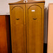 Tall oak 2 door wardrobe E180