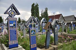 Joyful cementery