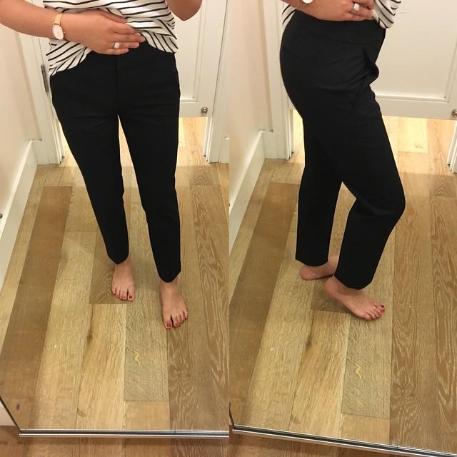 LOFT Custom Stretch Pencil Pants in Marisa Fit, size 24/00P