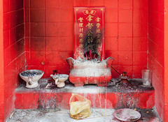 Traditional Chinese altar