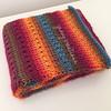 Tunisian Knit-alike Scarf, Folded