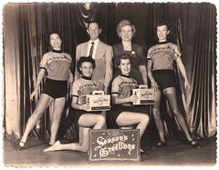 Vintage Photo : Ferber Dance Studio : Season's Greetings (72dpi)