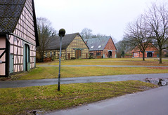 Lübeln (Wendland) Dorfplatz des Rundlings