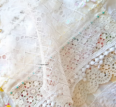 layers, lace, overlay