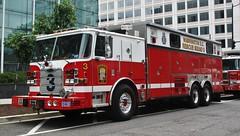 Washington D.C. Fire & EMS Rescue Squad 3 2011 Pierce Arrow XT