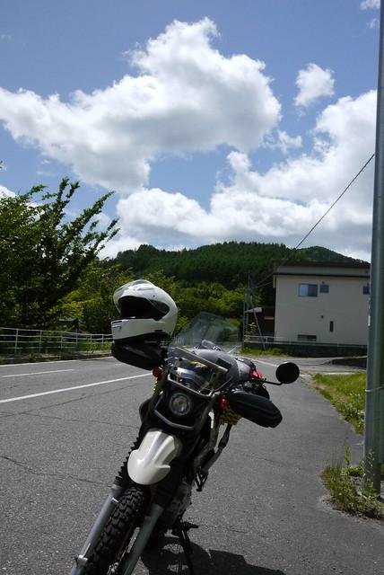 木祖村から北上中