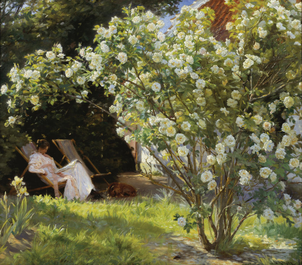 Roses by P.S. Krøyer, 1893