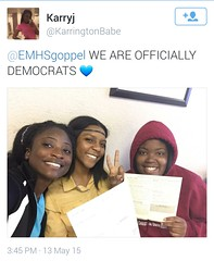 We are Officially Democrats