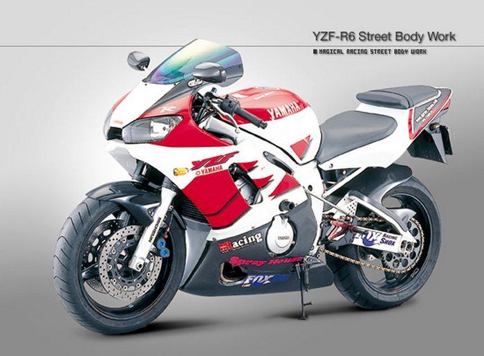 Yamaha YZF-R6 600 2002 - 0