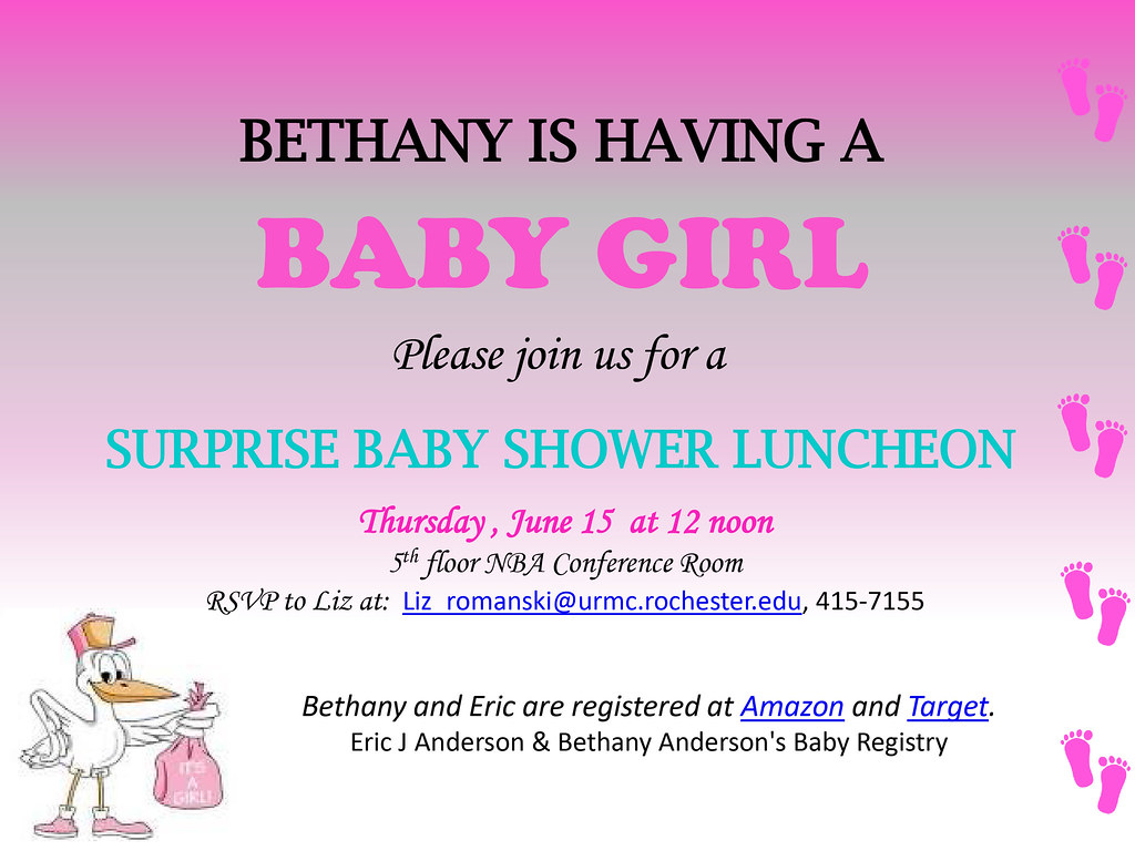 Bethany's Baby Shower