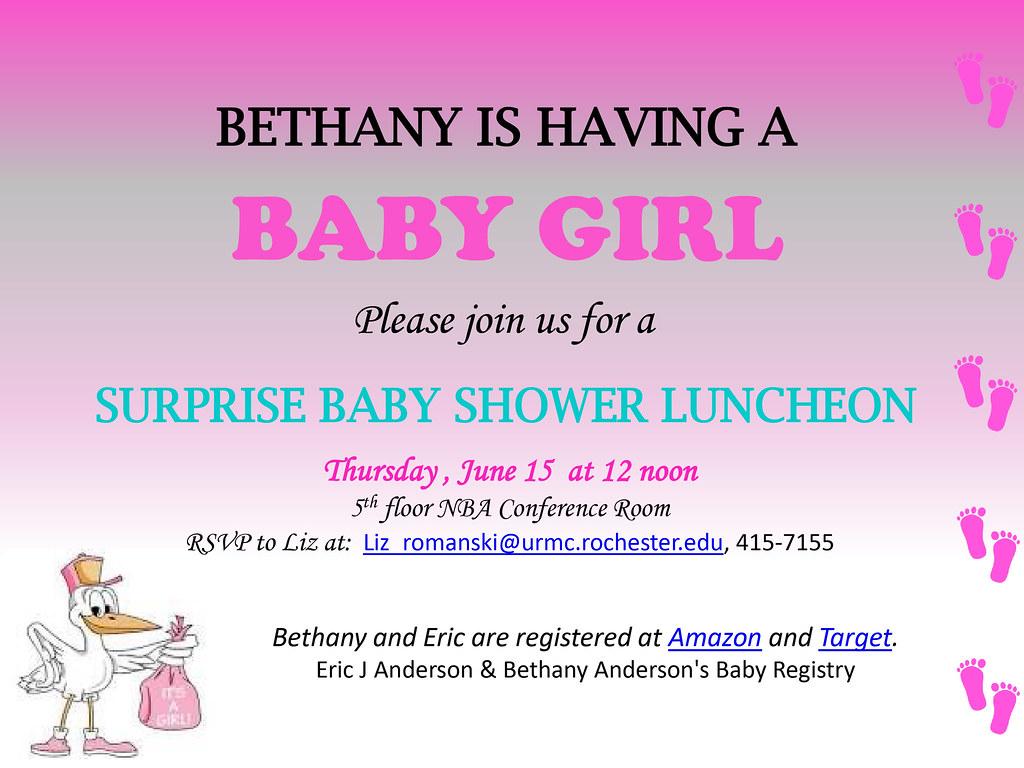 Bethany's Baby Shower